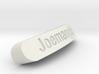 Joemangle Nameplate for SteelSeries Rival 3d printed