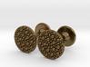 Granulated Cufflinks  3d printed