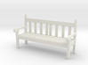 1:20.32 Scale Hyde Park Bench 3d printed