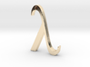 "The Greek Letter ""Lambda"" 3d printed"