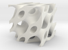 Piped Cube 3d printed