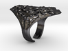 Crusta Ring 3d printed