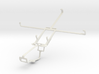 Controller mount for Xbox One & Prestigio MultiPad 3d printed
