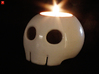 Toon Skull Tea Light Holder 3d printed