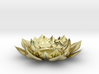 Lotus Flower Tea Light Holder 3d printed