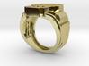 Skull VII Ring 3d printed