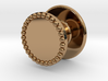 Button Flat Granulated 3d printed
