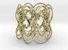 18 Wheeler Ring 3d printed