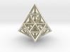 20 TETRAHEDRONS (pendant) 3d printed