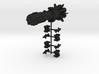 NuBlazers Amerik Carrier & Fighters - Fleetscale 3d printed