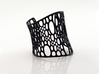 Subdivision Cuff sz M 3d printed black strong & flexible