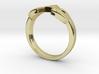 The Legend of Zelda Triforce Ring  3d printed