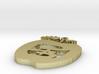 PB Apple Pendant 1.5 inch 3d printed
