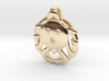 Cute Octopus Pendant with Heart 3d printed