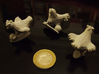 Chicken VIP alumide 3d printed