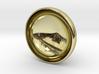 Acorn top pendant whistle 3d printed