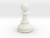 Pawn (Chess) 3d printed