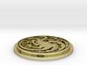 Targaryen Sigil Badge 3d printed