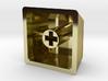 Legend of Zelda - Triforce Keycap (R4, 1x1) 3d printed