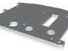 Backplate MLU small 3d printed