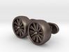 Jet Engine cufflinks 3d printed
