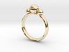 GeoJewel Ring UK Size O US Size 7 3d printed