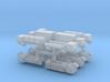 3mm Military Anti-Grav Cargo Trucks (12pcs) 3d printed