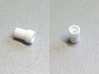 F3P Single motor contra - Front Bearing Holder 3d printed Actual part printed in white strong and flexible.