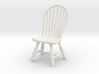 1:24 Hoop Back Windsor Chair 3d printed