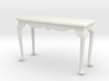 1:24 Fancy Queen Anne Console Table, Large 3d printed