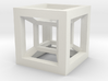 4D Hypercube 3d printed
