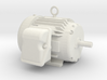 Electric Motor - Hollow 3d printed