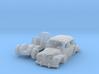 Renault 4CV (N 1:160) 3d printed