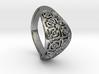PAW Ring D18 SE84bU120a20m026M10T1FR331-wax 3d printed