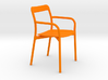Branca Modern Designer Chair 1:12 scale 3d printed