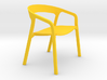 1:12 scale She Said Lowide modern designer chair 3d printed