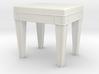 1:48 Vanity Bench 3d printed