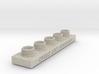 Sculpting Platforms-Quintuple Cap Hollow Block 3d printed