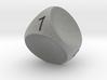 D4 Concave Dice 3d printed