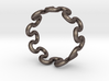 Wave Ring (23mm / 0.90inch inner diameter) 3d printed
