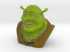 Animated Movies - Shrek Bust 3d printed
