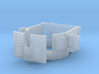 ~1/87 open MRAP/HMMWV turret (repaired) 3d printed