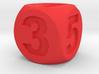 Number Die, Standard Size 16mm 3d printed