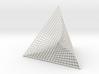 Ribbed Hemicube Tetrahedron 3d printed