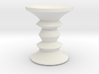1:24 Eames Walnut Stool 3d printed