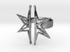 Split Star 3d printed