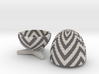 Egg Jewelry Box: Chevron 3d printed