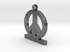 Peace Pendan Man 3d printed