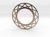 Magic Circle Necklace 3d printed