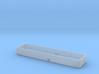 HO SAL 3-bay hopper extension 3d printed